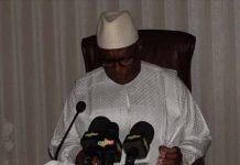 Le chef de l'Etat, Ibrahim Boubacar Kéita