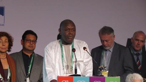 ICOMOS : Dr Alpha Diop élu élu vice-président