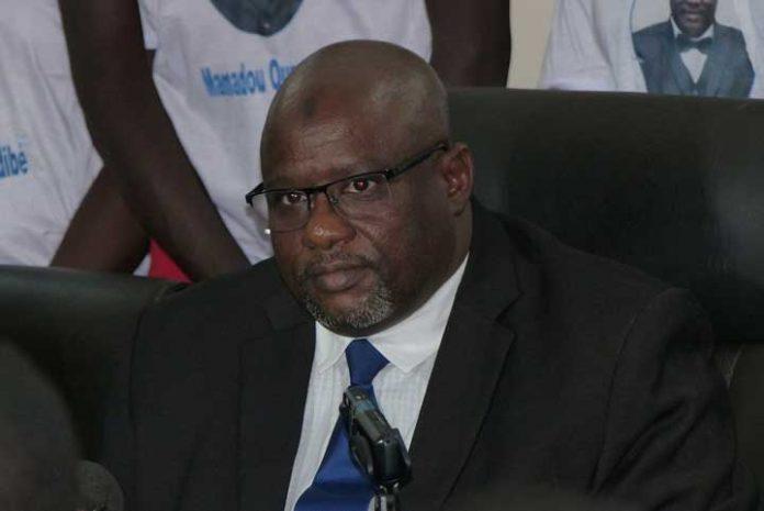 Mamadou Oumar Sidibé, président du PRVM-Fasoko
