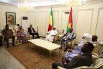 Le chef de l'Etat avec son homologue du Burkina Faso