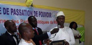 Présidence du RJPPM : Bengaly Guindo passe le flambeau à Adama Togo