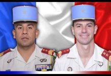 Les sergent-chef Mougin et brigadier-chef Dernoncourt
