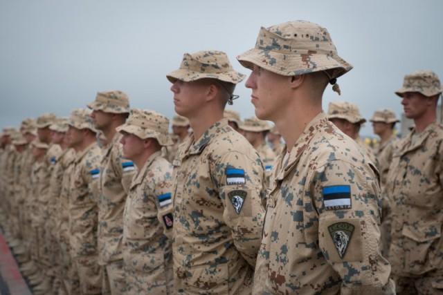 Soldats estoniens
