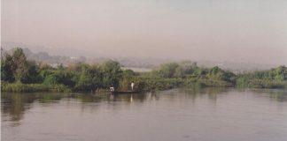 Le fleuve Niger à Bamako