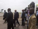 Le Premier ministre Soumeylou Boubeye Maiga