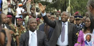 Charles Blé Goudé et Laurent Gbagbo