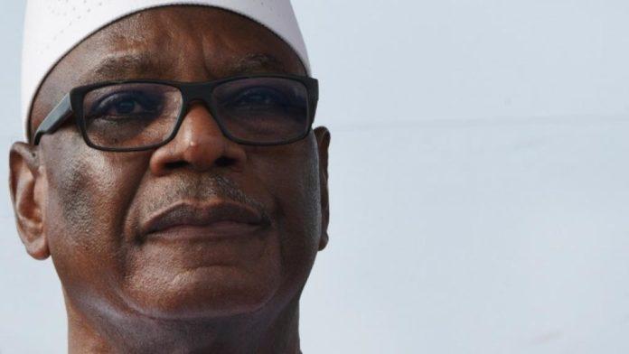 Ibrahim Boubacar Keita, ici le 10 mai 2018