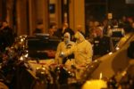 La police scientifique inspecte la rue Monsigny
