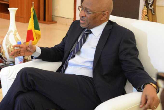 Le Premier ministre Soumeylou Boubèye Maïga