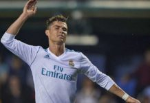 Cristiano Ronaldo lors d'une rencontre du Real Madrid