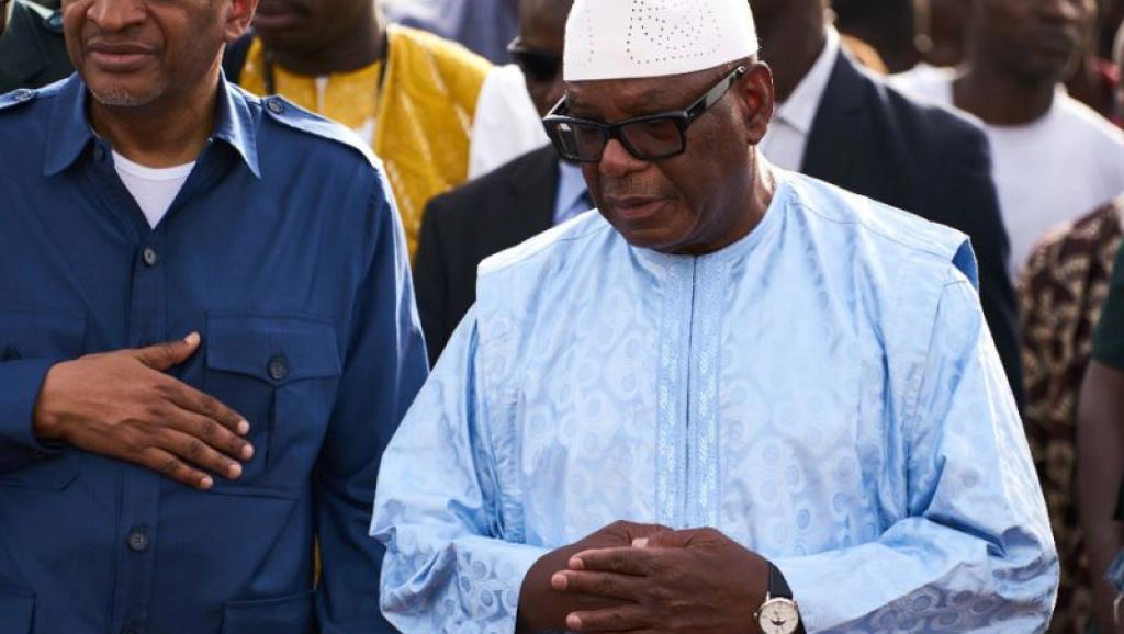le chef de l'Etat malien sortant, Ibrahim Boubacar Keïta