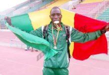 Amadou Kayantao, meilleur athlète Ouest-Africain 2015