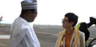 Mme Ursula Mueller en visite au Mali