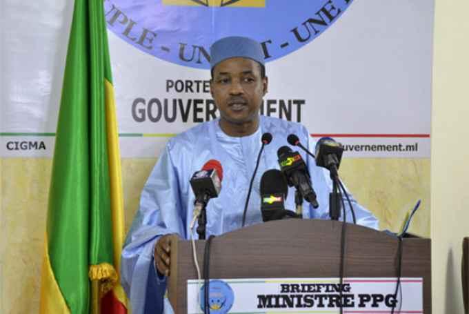 Le ministre Amadou Koïta