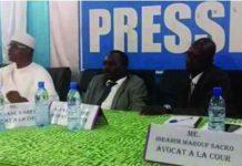 Les avocats de Paul I Boro et de Moussa Kimbiri