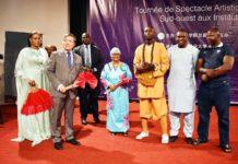 Kéïta Aminata Maïga assiste aux moments forts de la culture et de l'Amitié Sino-Malienne