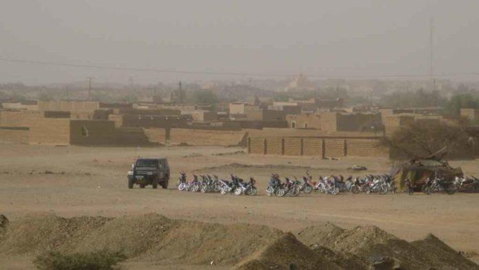 la ville de Kidal au Mali