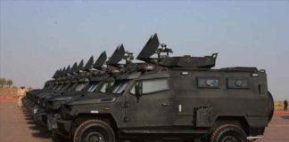Mali: le Qatar livre 24 véhicules blindés