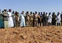 SEM Ibrahim Boubacar KEITA dans le village de Koulogon