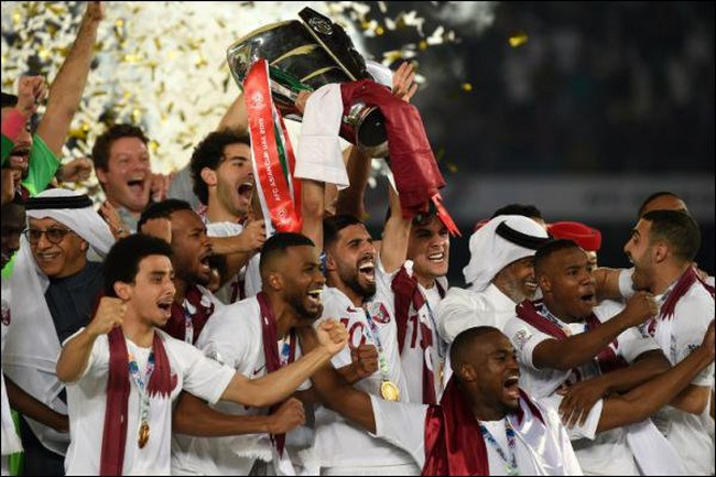 La victoire du Qatar