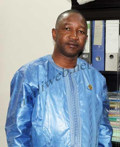 Eli Diarra maire de la commune urbaine de Koulikoro