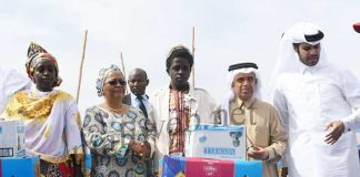 Kéïta Aminata Maïga au secours des déplacées
