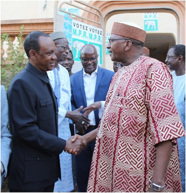 Rencontre Choguel/Modibo Sidibé