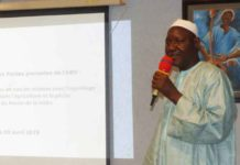 Yaya Boubacar, Directeur national de l'Hydraulique