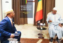 IBK loue hautement les initiatives du Roi Mohammed VI