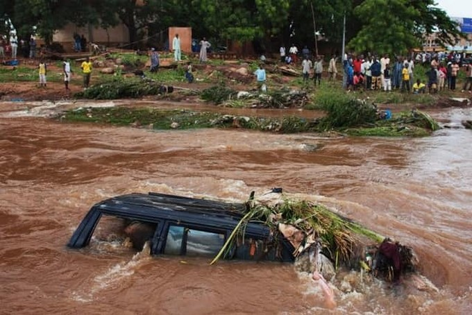 Inondation à Bamako