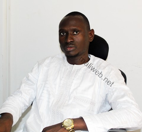 El Hadj Sékou Djigué, président du mouvement
