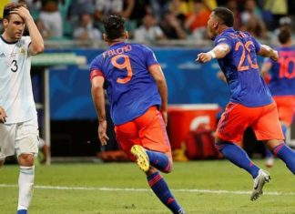 La Colombie a malmené l'Argentine !