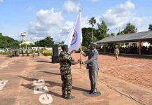 Le Général de brigade Oumarou Namata Gazama du Niger