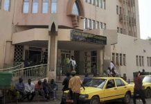 hôpital Gabriel-Touré à Bamako.