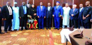 Tiébilé Dramé face aux diplomates Africains à Bamako