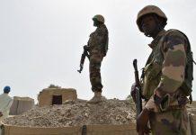 Des soldats nigériens en patrouille