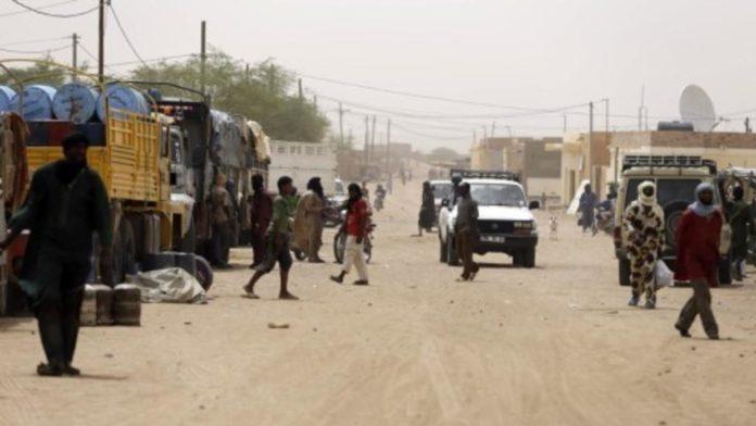Une rue de Kidal