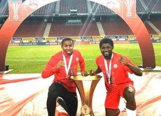Sékou Koïta et Mohamed Camara