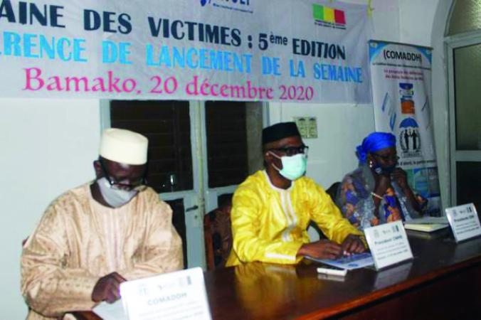 Semaine des Victimes au Mali