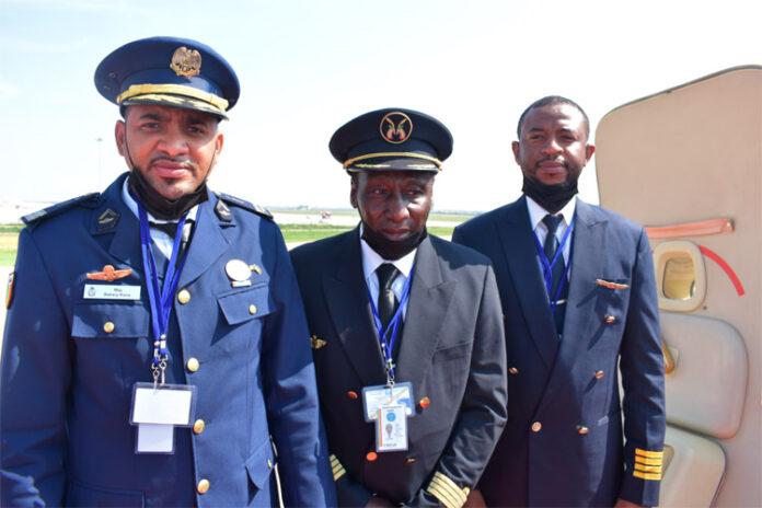 De gauche à droite : Lieutenant-colonel Bakary Koné, Hamidou Léo Keïta et Fousseyni Fall